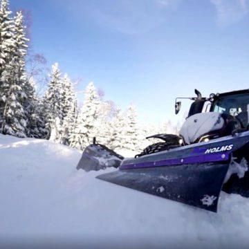 Snøplog PVF Holms
